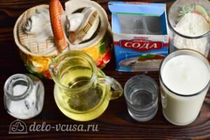 Блины на кефире без яиц: Ингредиенты