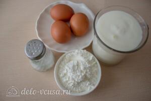 Блины на кефире по Дюкану: Ингредиенты