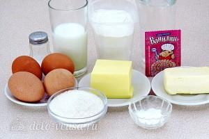 Эклеры с молочно-сливочным кремом ингредиенты
