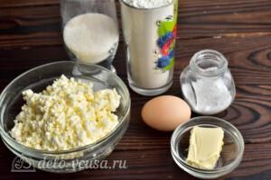 Домашние галушки из творога: Ингредиенты
