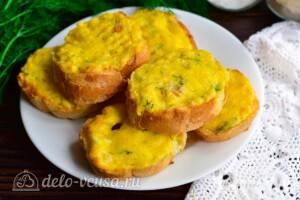 Гренки с сыром по-валлийски: фото к шагу 8.