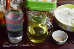 Белый хлеб на воде в хлебопечке: Ингредиенты