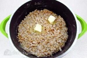 Овсяная каша из цельного зерна на воде: фото к шагу 6.