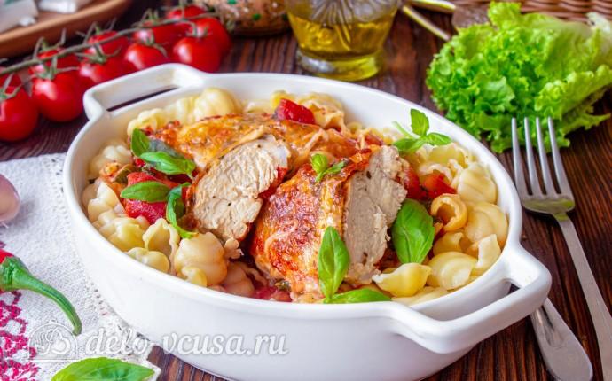 Куриные грудки в итальянском стиле