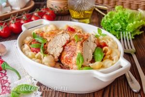Куриные грудки в итальянском стиле готовы