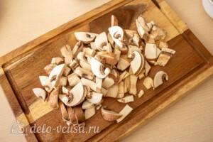 Ленивый бризоль с грибами: фото к шагу 1.