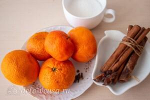 Мандарины в пряном сиропе: Ингредиенты