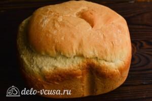 Молочный хлеб в хлебопечке: фото к шагу 8.