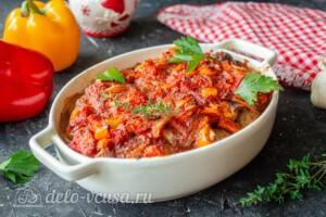 Мясные шарики с моцареллой в томатном соусе: фото к шагу 11.