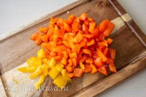 Мясные шарики с моцареллой в томатном соусе: фото к шагу 6.