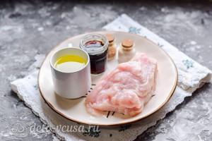 Отбивная из индейки на сковороде гриль: Ингредиенты