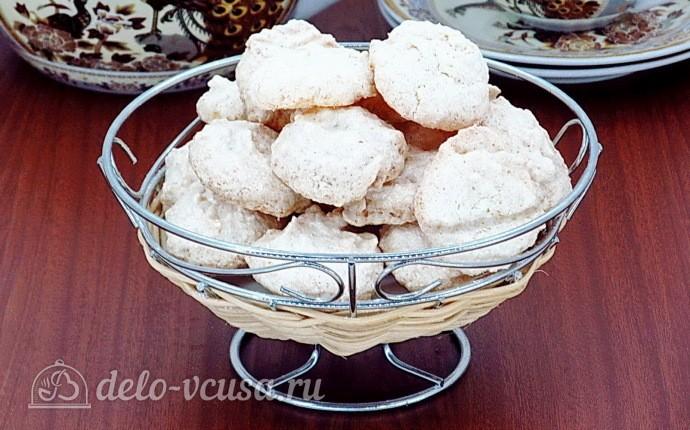 Белковое печенье с кокосом