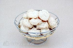 Белковое печенье с кокосом готово