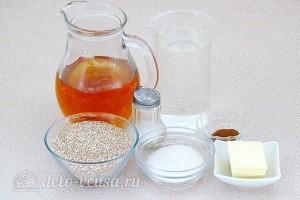 Пшеничная каша на яблочном соке: Ингредиенты