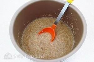 Пшеничная каша на яблочном соке: фото к шагу 8.