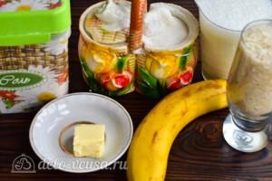 Рисовая каша с бананом: Ингредиенты