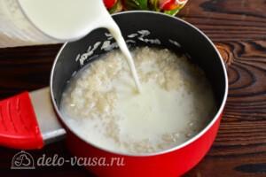 Рисовая каша с бананом: фото к шагу 2.