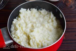 Рисовая каша с бананом: фото к шагу 4.