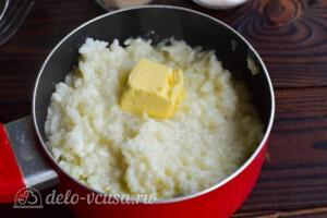 Рисовая каша с бананом: фото к шагу 5.