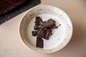 Рождественский шоколадный кекс: фото к шагу 11.