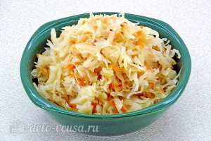 Подготовить квашеную капусту