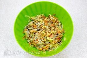 Салат из телячьей печени с овощами: фото к шагу 8.