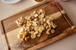 Зимний салат с фасолью и свеклой: фото к шагу 1.
