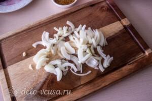 Зимний салат с фасолью и свеклой: фото к шагу 3.