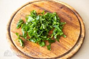 Салат со свеклой и кукурузой: фото к шагу 2.