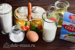 Таратушки на кефире: Ингредиенты