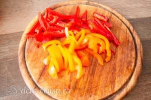 Тефтели с пармезаном и печёными овощами: фото к шагу 2.