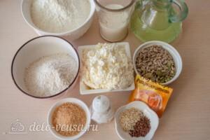 Творожные булочки из цельнозерновой муки: Ингредиенты