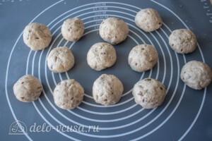 Творожные булочки из цельнозерновой муки: фото к шагу 7.