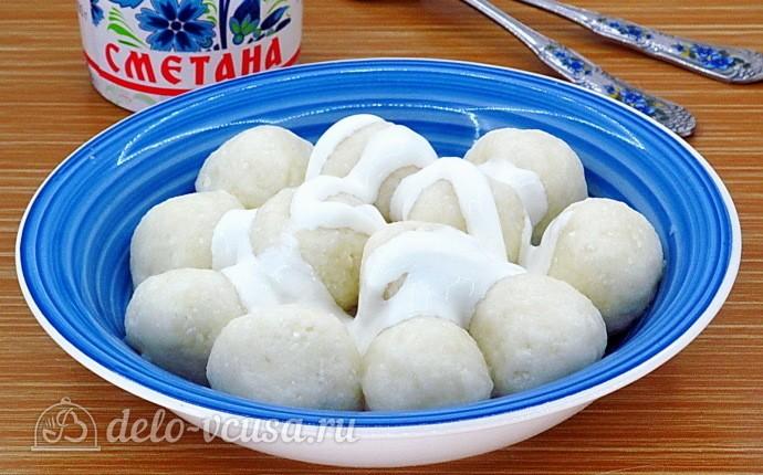 Творожные шарики по-латышски