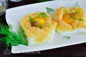 Яйца Орсини в духовке: фото к шагу 8.