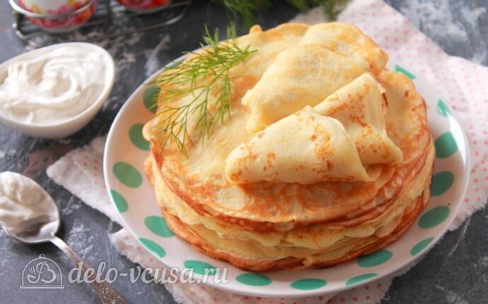 Рецепт картофельные блины на молоке
