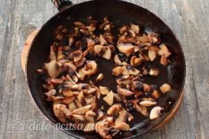 Печеночные блинчики с грибами: фото к шагу 1.