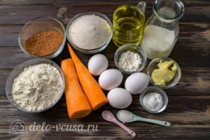 Бразильский морковный кекс: Ингредиенты