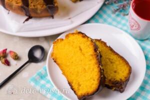 Бразильский морковный кекс готов