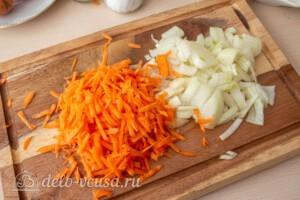 Гречаники в сметанном соусе в духовке: фото к шагу 1.