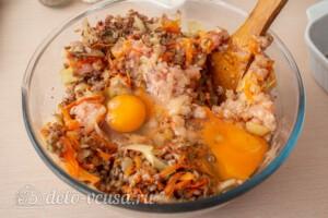 Гречаники в сметанном соусе в духовке: фото к шагу 5.