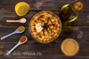 Хумус быстрый и простой рецепт за 10 минут: фото к шагу 1.