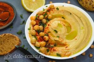 Хумус быстрый и простой рецепт за 10 минут: фото к шагу 5.