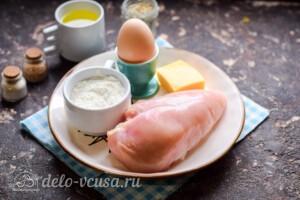 Куриные отбивные в сырном кляре: Ингредиенты