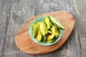 ПП овсяноблин с семгой и авокадо: фото к шагу 4.