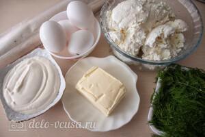 А-ля баница с творогом и тестом фило: Ингредиенты
