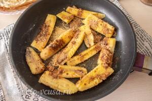 Карамелизируем бананы