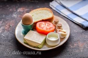 Бутерброды с помидорами и плавленым сыром: Ингредиенты