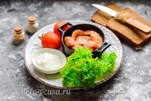 Бутерброды с семгой и плавленым сыром: Ингредиенты