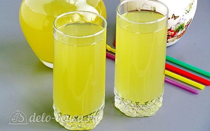 Домашний имбирный лимонад: фото блюда приготовленного по данному рецепту